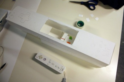 Paper prototype of the CiiDMote